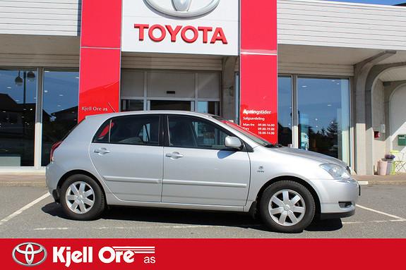 Toyota Corolla 1,6 Sol Meget pen. Kun 1 eier. Hengerfeste.  2003, 181806 km, kr 39000,-