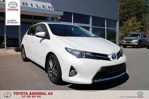 Toyota Auris 1,8 Hybrid E-CVT Active+  2014, 85673 km, kr 169000,-