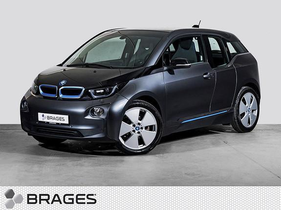 BMW i3 60Ah 170hk, Navi, DAB+, park. ass, cruise, varmepumpe  2016, 17500 km, kr 219000,-