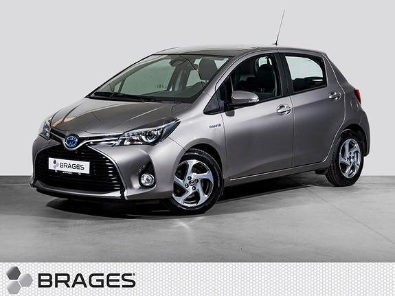 Toyota Yaris 1,5 Hybrid Active e-CVT Navi, Cruise, R.kam, DAB+  2015, 37200 km, kr 169000,-