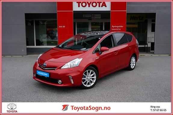 Toyota Prius 1,8 VVT-i Hybrid Premium  2014, 51800 km, kr 259900,-