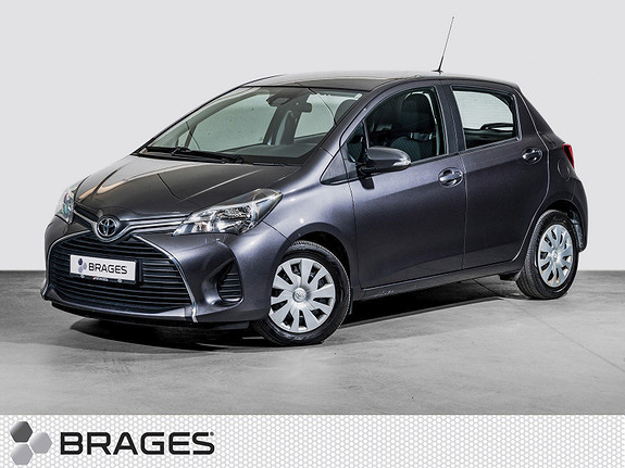 Toyota Yaris 1,0 Active - Navigasjon, DAB+, BT, Safety Sense -  2016, 64700 km, kr 139000,-