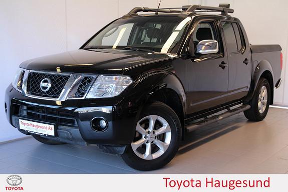 Nissan Navara 2,5 dCi 190 SE Double Cab Aut. Autolys, regnsensor  2013, 94613 km, kr 229000,-