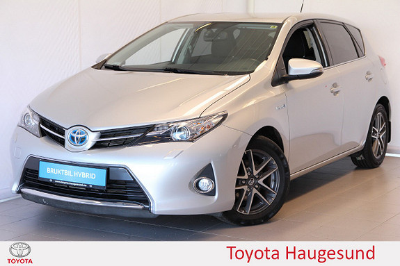 Toyota Auris 1,8 Hybrid E-CVT Active+ Navi, Xenon, regnsens., Tectyl  2014, 62208 km, kr 179000,-