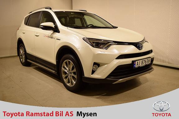 Toyota RAV4 Hybrid AWD Executive  2017, 20500 km, kr 459000,-