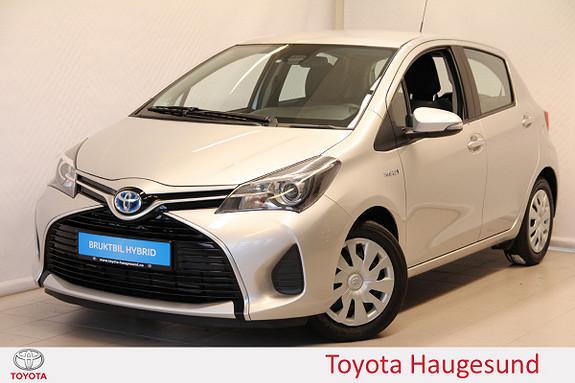 Toyota Yaris 1,5 Hybrid Active S e-CVT Navi, kamera, Bluetooth, DAB+  2016, 48436 km, kr 180000,-