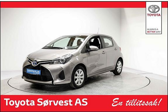 Toyota Yaris 1,5 Hybrid Active  2015, 42126 km, kr 179000,-