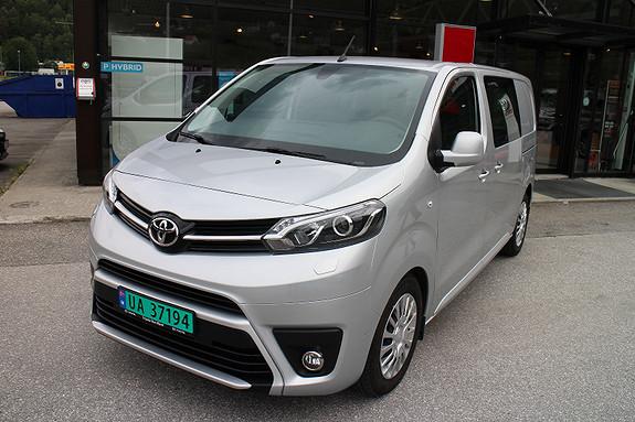 Toyota Proace Comfort, ryggekamera, parksensor,  2018, 6200 km, kr 315000,-