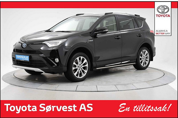 Toyota RAV4 Hybrid 4WD Executive krok, stigtrin, lyst int, krom.pk.  2016, 36500 km, kr 419000,-