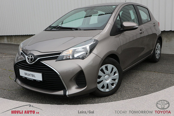 Toyota Yaris 1,0 Active // Navigasjon // Safety Sense //  2015, 45200 km, kr 139900,-