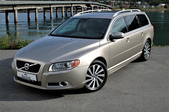 Volvo V70 D2 Summum Skinn, DAB, Hengerfeste, Keyless, Dab  2012, 98816 km, kr 209000,-