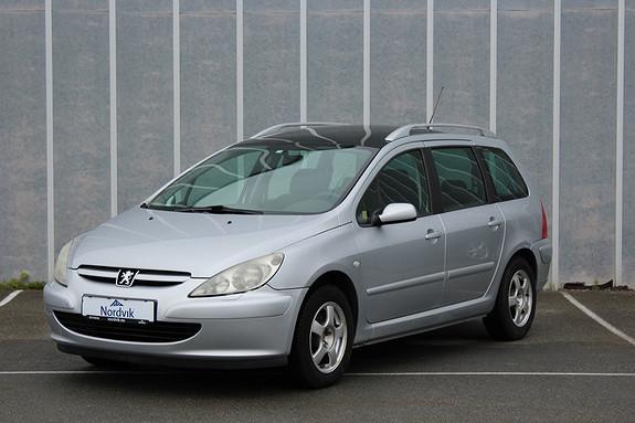 Peugeot 307 2,0 HDI 90hk XR Eu2019, Sommer/vinter ++  2003, 203620 km, kr 19000,-