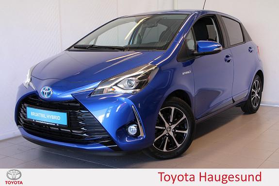 Toyota Yaris 1,5 Hybrid Active+ e-CVT aut  2018, 3300 km, kr 229000,-