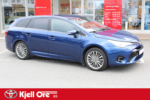 Toyota Avensis Touring Sports 1,8 Active Style M-drive 7S  2016, 39767 km, kr 279000,-