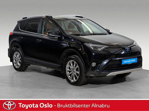 Toyota RAV4 Hybrid AWD Executive Toppmodell  2016, 35750 km, kr 439900,-