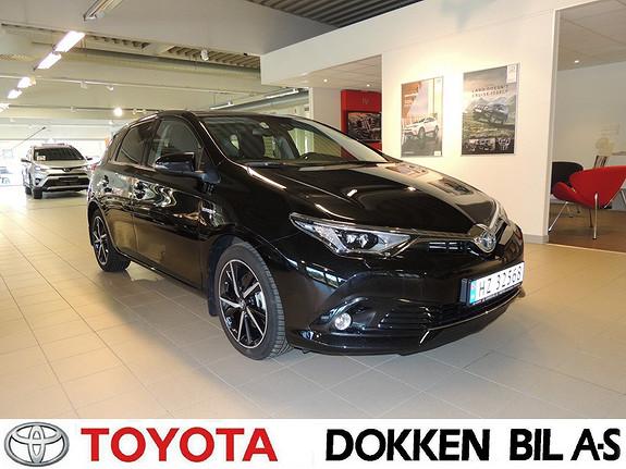 Toyota Auris 1,8 Hybrid E-CVT Style Edition glasstak og LED lys  2017, 6000 km, kr 279000,-