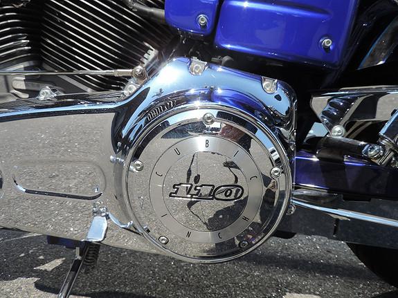 Bilbilde: Harley-Davidson FXDSE CVO Screamin Eagle