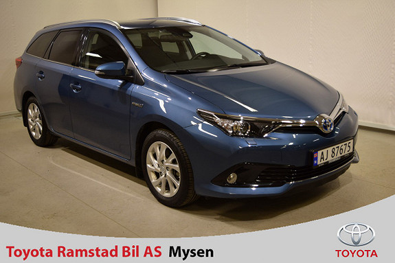 Toyota Auris Touring Sports 1,8 Hybrid Active Sport  2017, 5 300 km, kr 279 000,-