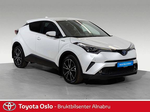 Toyota C-HR 1,8i Hybrid Supreme Tech Toppmodell  2018, 18182 km, kr 369900,-