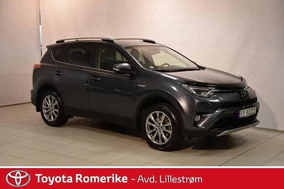 Toyota RAV4 Hybrid AWD Executive  2017, 18 285 km, kr 470 000,-