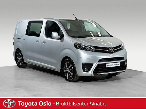 Toyota Proace 1,6 D 115 Comfort Medium L1H1 Hengerfeste, DAB+,  2017, 13639 km, kr 259900,-