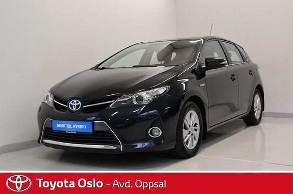 Toyota Auris 1,8 Hybrid E-CVT Active Go navi  2013, 70662 km, kr 169900,-