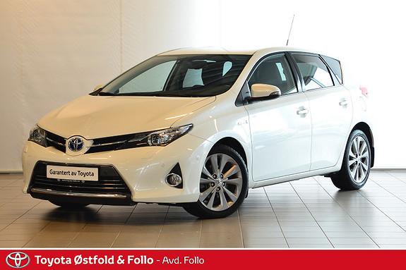 Toyota Auris 1,8 Hybrid E-CVT Executive  2015, 86625 km, kr 199000,-