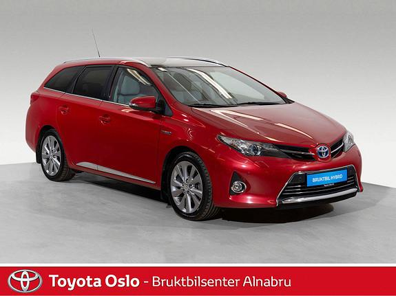 Toyota Auris Touring Sports 1,8 Hybrid Executive Toppmodell  2014, 73580 km, kr 219900,-