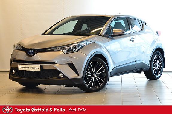 Toyota C-HR 1,8i Hybrid Supreme  2018, 8 km, kr 349000,-