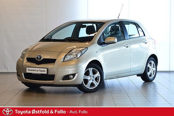 Toyota Yaris 1,33 Sol S&S  2011, 134612 km, kr 89000,-