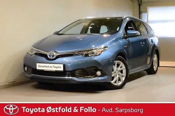 Toyota Auris Touring Sports 1,8 Hybrid Active S , SAFETY SENSE / DAB  2016, 45600 km, kr 232000,-