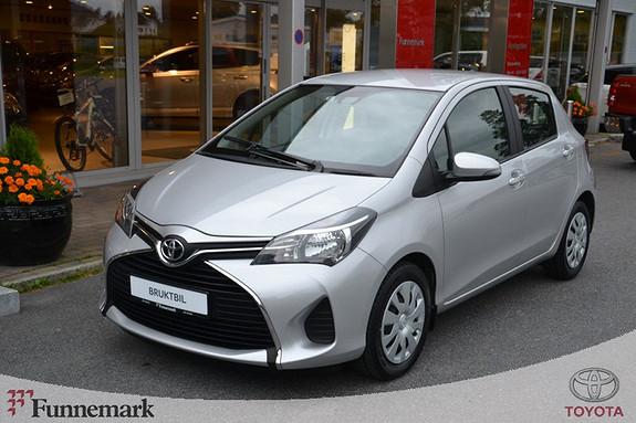 Toyota Yaris 1,0 Active  2016, 21515 km, kr 158000,-