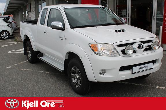 Toyota HiLux D-4D 120hk X-Cab 4wd SR5 m/ hengerfeste  2009, 105681 km, kr 179000,-