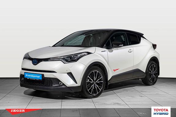 Toyota C-HR 1,8i Hybrid Lounge Tech Flott demobil  2018, 6400 km, kr 339000,-