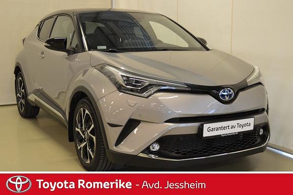 Toyota C-HR 1,8i Hybrid Dynamic Tech Varme i ratt,  Topputgave  2017, 10600 km, kr 345000,-