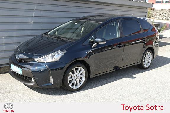 Toyota Prius+ Seven 1,8 VVT-i Hybrid Premium LAV KM  2018, 883 km, kr 385000,-