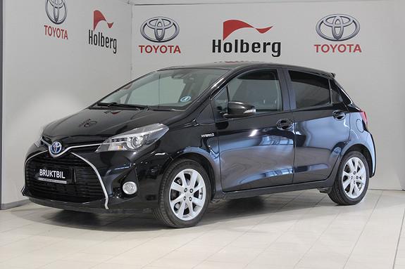Toyota Yaris 1,5 Hybrid Style Panorama, Safety Sense, Ryggekamera++  2015, 53800 km, kr 169000,-