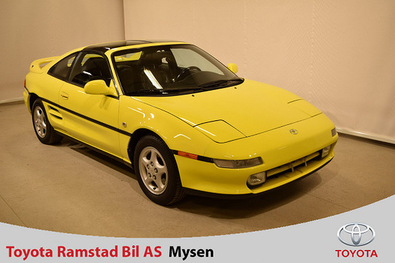 Toyota MR2 originalturbo  1991, 156 000 km, kr 79 000,-