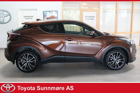 Toyota C-HR 1,2T Supreme Tech 4WD aut  2017, 20000 km, kr 349000,-