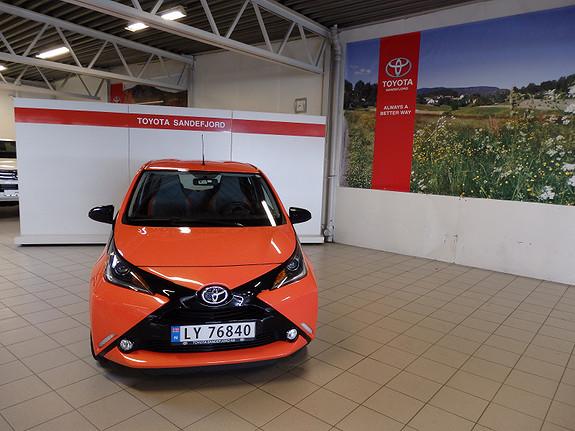 Toyota Aygo 1.0VVT-i X-Cite  2014, 36500 km, kr 119000,-