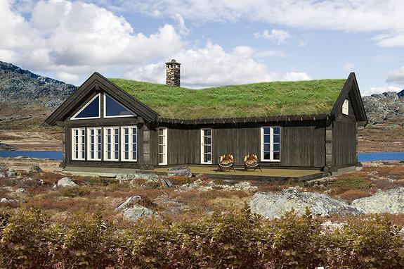 Turufjell- Eksklusiv BUEN Hytte – Fantastisk område – tomt & grunnarbeider inkludert.