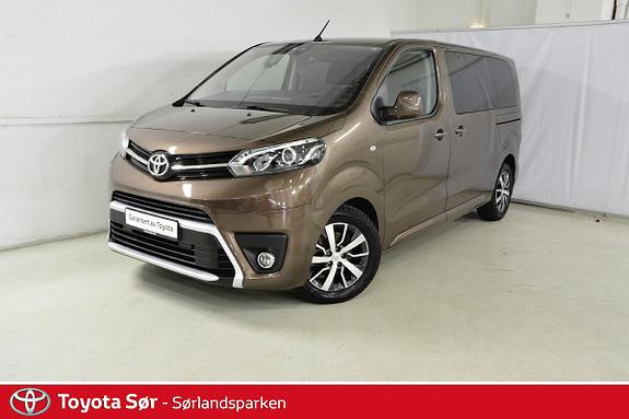 Toyota Proace Verso Medium 1,6D 116 Executive Family 8-seter  2018, 22000 km, kr 519000,-