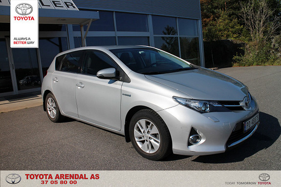 Toyota Auris 1,8 Hybrid E-CVT Active ryggekamera, tectylbehandlet ++  2014, 62000 km, kr 165000,-