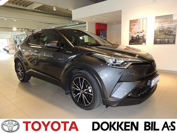 Toyota C-HR 1,8i Hybrid Lounge Tech med navigasjon og tectylert und  2018, 3100 km, kr 349000,-