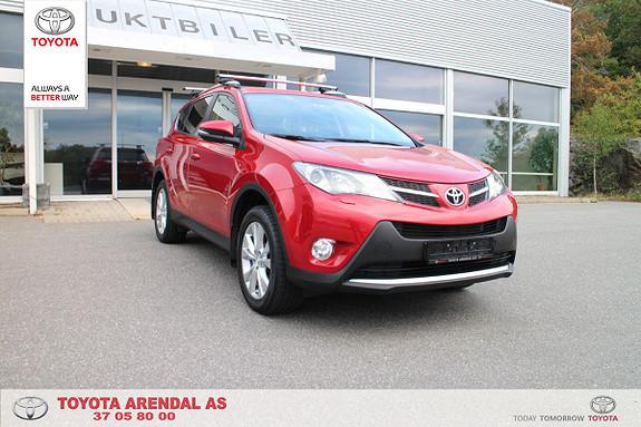 Toyota RAV4 2,2 D-4D 4WD Executive  2014, 62500 km, kr 299000,-