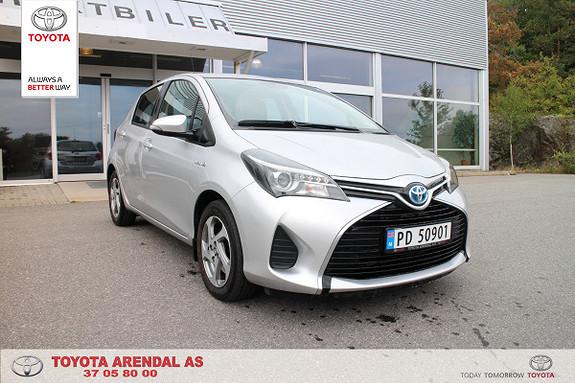 Toyota Yaris 1,5 Hybrid Active e-CVT  2014, 42500 km, kr 149000,-