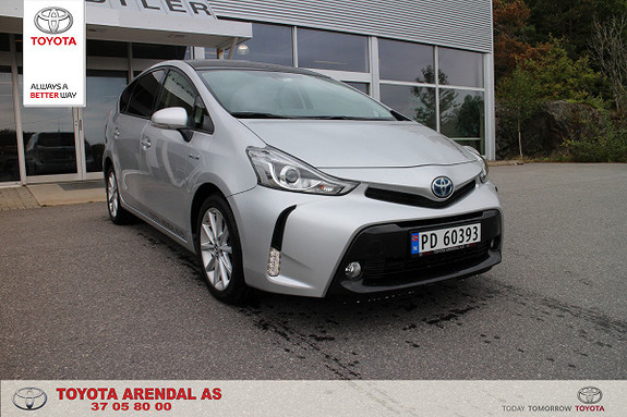 Toyota Prius+ Seven 1,8 VVT-i Hybrid Executive  2017, 22500 km, kr 339000,-