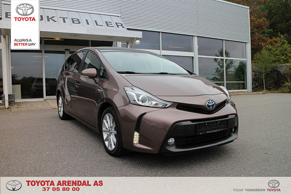 Toyota Prius+ Seven 1,8 VVT-i Hybrid Executive 7seter  2015, 58500 km, kr 279000,-