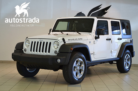 Jeep Wrangler 2.8 CRD 200hk AT 4x4 RUBICON