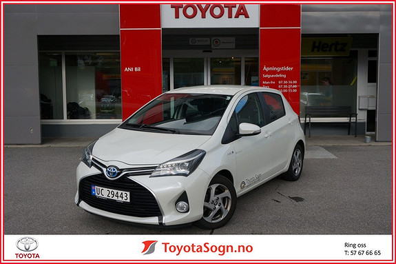 Toyota Yaris 1,5 Hybrid Active e-CVT  2015, 67000 km, kr 173000,-